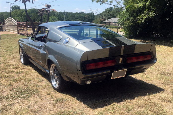 1967 Ford Mustang Shelby GT500 Eleanor - Rear view