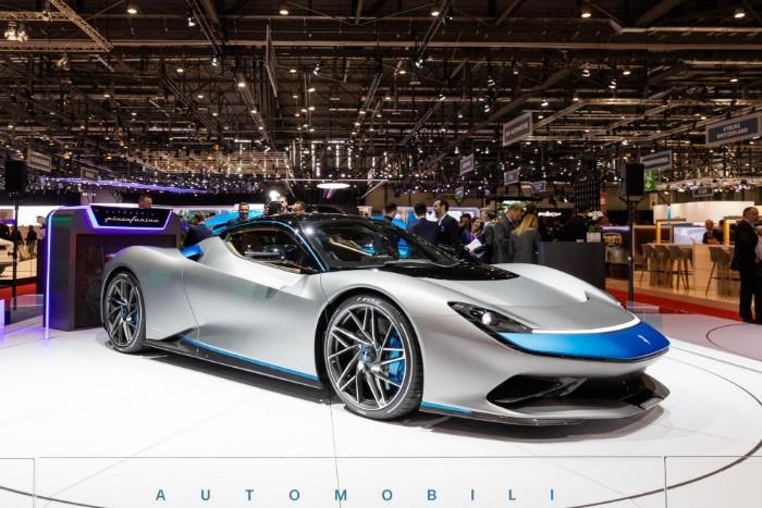 Pininfarina Battista EV - front side view