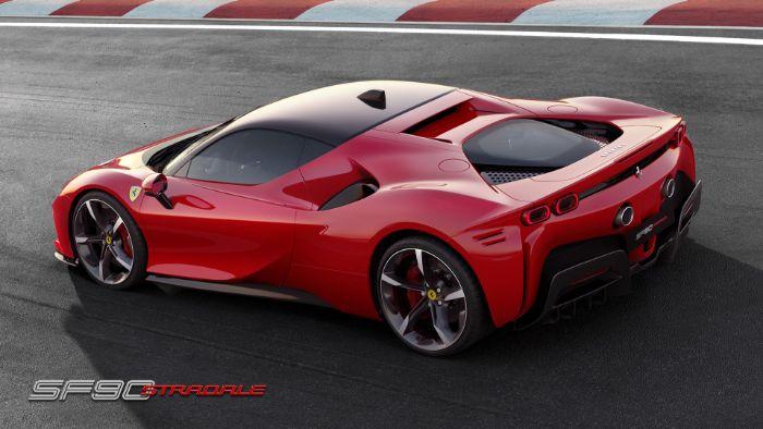 Ferrari SF 90 Stradale - side view