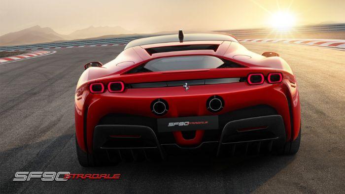 Ferrari SF 90 Stradale - rear view