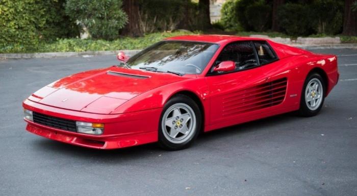 1990 Ferrari Testarossa side view