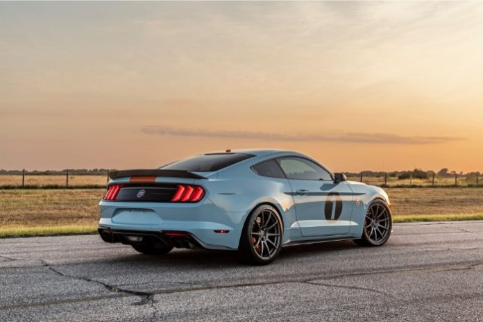 2019 Ford Mustang Gulf Heritage Edition - rear view
